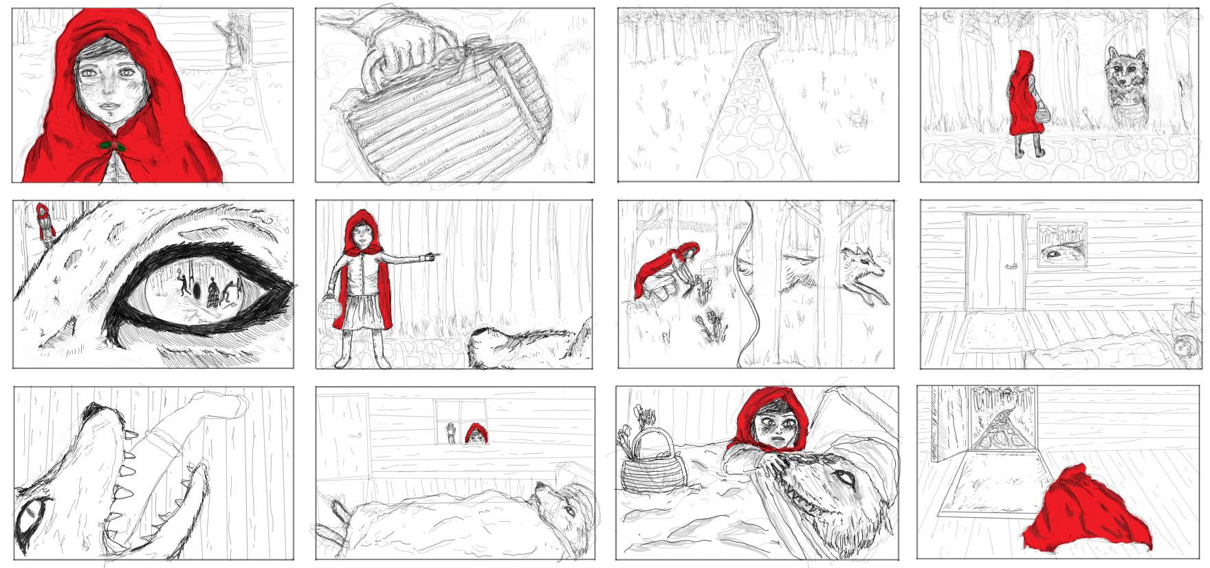 Little Red Riding Hood Brandon Nichols Git 210 230 Coursework